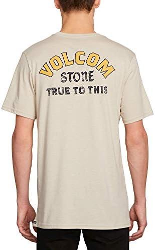 Volcom Mens Stone Alias Modern Fit Short Sleeve Tee