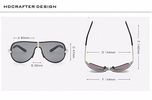 glexal para hombre Cool Pared Metal Frame Deportes gafas de ...