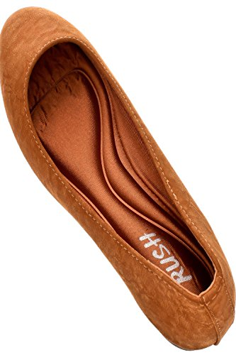 Dnd Microfiber Puntige Teen Casual Flats Camel-afra-13