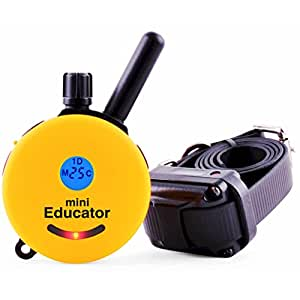 Educator ET-300 Mini 1/2 Mile E-Collar Remote Dog Training Collar With Vibration, Tapping Sensation and Pavlovian Stimulation