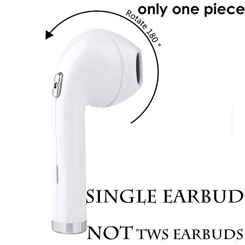 QANGEL Bluetooth Earbuds,180°Rotation Fit for Left and Righ