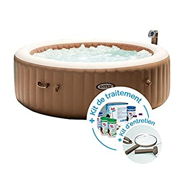 INTEX SPA Hinchable PureSpa Burbujas 6 Personas + Kit de ...