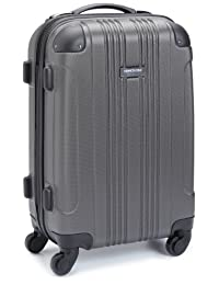 """Kenneth Cole Reaction Out of Bounds 20"""" 4 Wheel Upright, Charcoal, One Size"""
