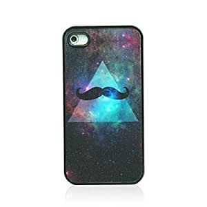 RC - Beard Pattern Hard Case for iPhone 4/4S