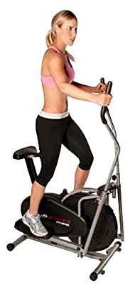 Confidence Fitness 2-in-1 Elliptical Trainer with Seat