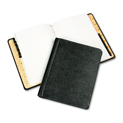 Corp Record/minute Book Complete Outfit, Black, 75 Unruled Pages, 8 1/2 X 11 Ledger Outfit
