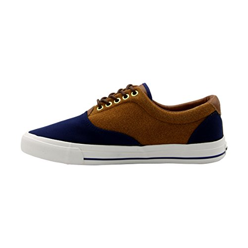 Beverly Hills Polo Clubâ Uomo Chambray Suede Sneakerâ Navy / Tan