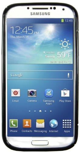 avci de base 4260344981441S Line Étui en silicone TPU pour Samsung Galaxy S4i9500Noir