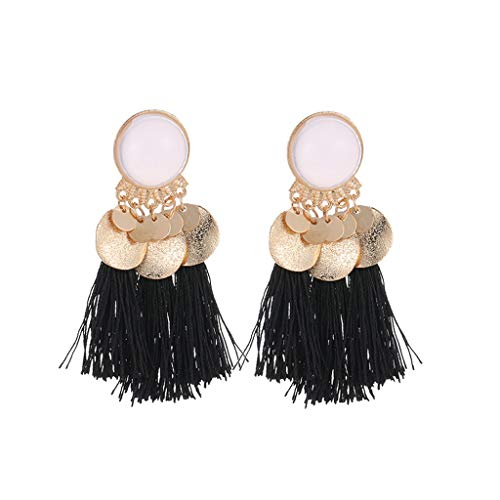 2019 New Fashion Bohemian Ethnic Retro Geometric Long Tassel Pendant Earrings Ladies Jewelry,Outsta Jewelry Hot Sale!Under 5 Dollars Gifts for Her]()