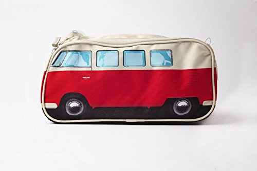51723cab2fc8 VW Volkswagen T1 Camper Van Toiletry Wash Bag - Red - Multiple Color  Options Available