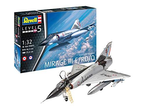 - Revell 03919, Dassault Mirage III E, 1:32 Scale Plastic Model kit