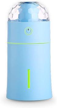 Opinión sobre OBELON Aroma humidificador ultrasónico con luz led mágica,Difusor de aceites Esenciales USB con Niebla fría Ajustable Apagado automático para Oficina, hogar, SPA (Azul - Faro)