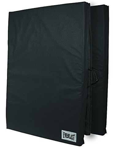 Everlast Folding Exercise Mat 72-Inch by 24-Inch (Black)