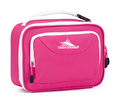 (High Sierra Single Compartment Lunch Bag, Flamingo/White)