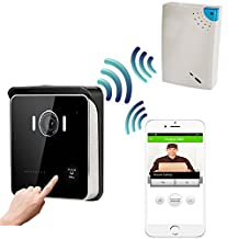 CUSAM WIFI Visual Intercom Smart Doorbell for Smartphones and Tablet PC with Wireless Chime