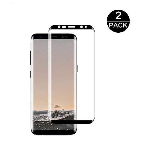 ショルダーブラケット豚Galaxy S8 Plus フィルム Samsung Galaxy S8 Plusガラスフィルム 【2枚】Galaxy S8 Plus フィルム 全面フルカバー 3Dラウンドエッジ加工 S8 Plus 保護フィルム 気泡ゼロ Samsung Galaxy S8 Plus 強化フィルム 指紋防止 耐衝撃 飛散防止 3D全面吸着【Galaxy S8 Plus -6.2''透明 】