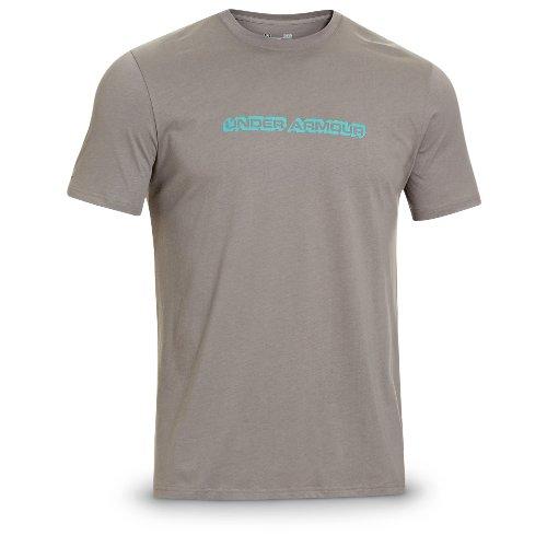 Under Armour Hooked Bass T-Shirt, BLK/ST.TROPEZ, XL