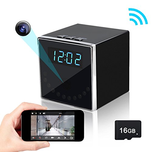 Corprit Wireless Hidden Spy Camera Network IP Nanny Cam HD 1080P