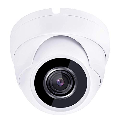 HDView 2.4MP 4-in-1 HD TVI AHD CVI 960H 1080P Outdoor Sony Sensor Wide Angle 2.8mm Lens Black Film Technology Better IR Night Vision Turbo Platinum Dome Camera White