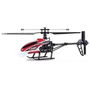 MJX F646 F46 4ch LCD 2.4GHZ Mid-size Single Blade Rc Helicopter