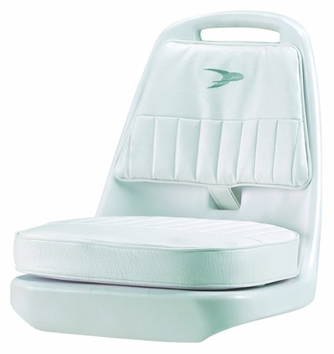 Wise 8WD013-3-710 Standard Pilot Chair with Cushions and Mounting Plate (Wise Pilot Chair Boat)