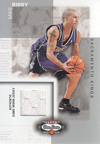 2002-03 Fleer Box Score Classic Miniatures Game-Used #CM6 Mike Bibby Jersey ()