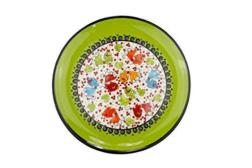 Ceramic Plates Handmade Decorative Dinner Plate for Dippi...