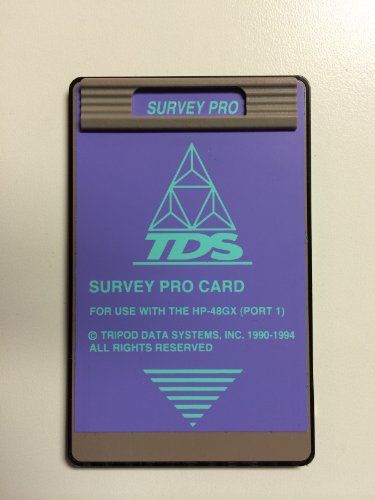 - TDS Survey Pro Card for the HP 48GX