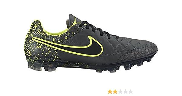 cfa50d2718af1 Amazon.com: Nike Men's Tiempo Legend V AG-R (Anthracite/Black/Volt ...