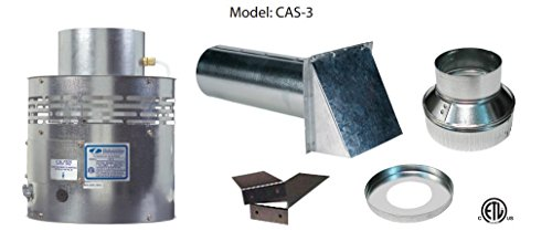 Field Controls 46266301 CAS-3 Fan In A Can Combustion Air System For 110V Oil Systems Only System Oil Boiler