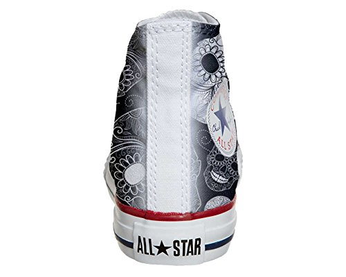 Converse All Star Customized - personalisierte Schuhe (Handwerk Produkt) Paisley