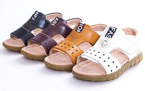 Evedaily - Zapatillas Bebé-Niños marrón