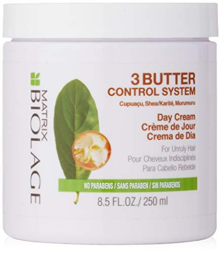 BIOLAGE 3Butter Control System Day Cream For Unruly Hair, 8.5 Fl Oz - Matrix Biolage Smoothing Gel