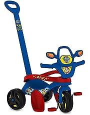 Triciclo Mototico Patrulha Canina Passeio & Pedal, Bandeirante, Azul