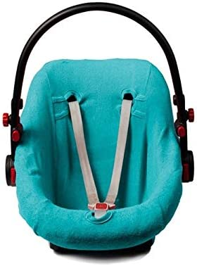 Haton Serenotex Baby Babyfit Frottee Schonbezug 4 Jahreszeiten Universal Bezug Für Babyschale Wie Z B Maxi Cosi U A Aqua Blue Spielzeug