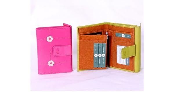 Billetera de Señora en piel de vacuno, fabricado en Ubrique ...