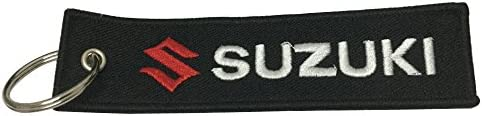 1pcs Tag Keychain for Suzuki Car Auto Accessories Motorcycles Bike Biker Key Chain Accessories Gifts