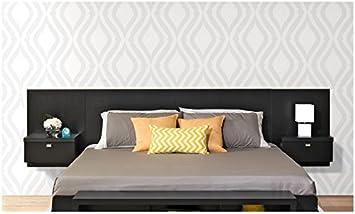 Amazon Com Valhalla Designer King Platform Floating King Bed