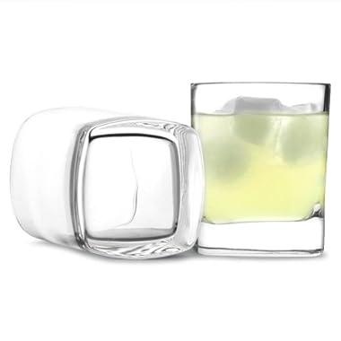 Luigi Bormioli Strauss Juice Glass, 8-Ounce, Set of 6