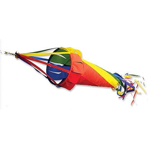 (Premier Kites 22521 Wind Garden Spinsock, Rainbow,)