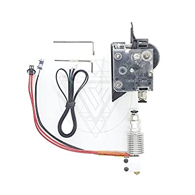 TEVO Titan Extruder Full Kit with NEMA 17 Stepper Motor for 3D Printer ssupport both Direct Drive and Bowden Mounting Bracket(Package five)