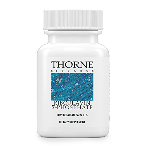 Thorne Research - Riboflavin 5'-Phosphate - Bioactive Form of Vitamin B2 for Methylation Support - 60 Capsules
