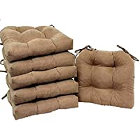 Home Improvements Set of 6 Natural Microfiber Soft Plush...