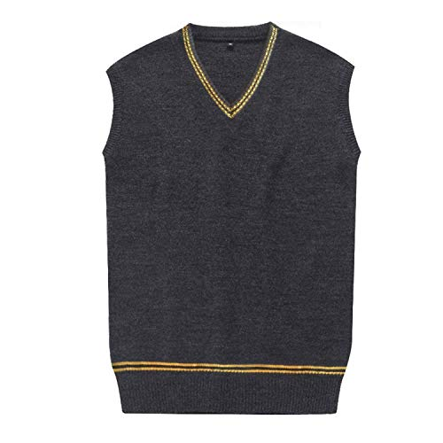 Unisex Costume Sweater Vest Fall and Winter Cardigan Waistcoat Cosplay ()