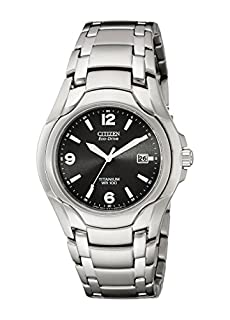 Citizen Men's Eco-Drive Titanium Watch with Date, BM6060-57F (B000GDC5KO) | Amazon price tracker / tracking, Amazon price history charts, Amazon price watches, Amazon price drop alerts