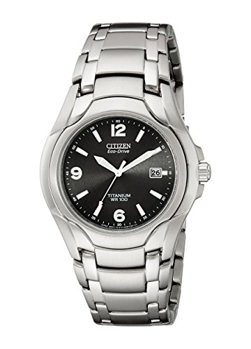 Citizen Men's BM6060-57F Eco-Drive 180 WR100 Titanium Bra...