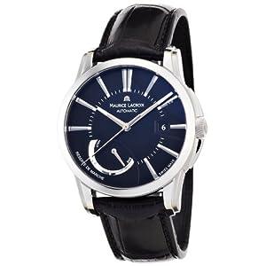 Maurice Lacroix Men's PT6168-SS001331 Pontos Pontos Black Dial Watch