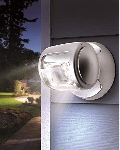 Luz LED con sensor de movimiento, Luz LED sin hilos para terraza con temporizador automático, resistente al agua, Lámpara brillante para jardín y ex by DURSHANI: Amazon.es: Iluminación