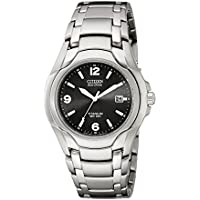 Citizen Men's Eco-Drive Titanium Watch with Date, BM6060-57F