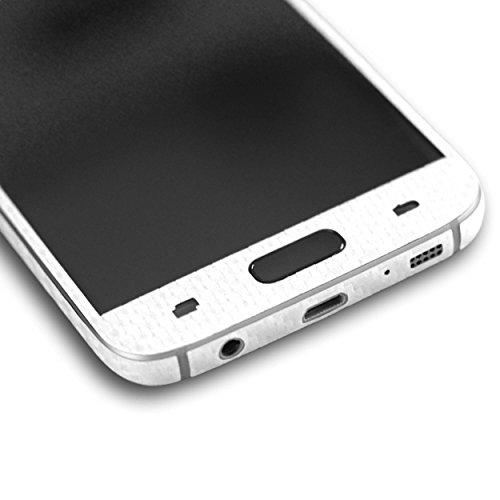 AppSkins Folien-Set Samsung Galaxy S7 Carbon pearl